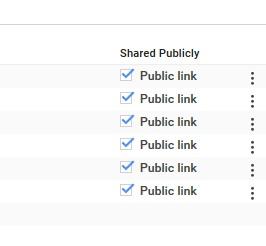 Google Cloud Storage public link